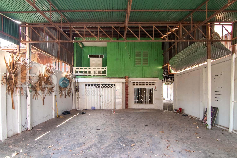 Restaurant Space For Rent - Old Market / Pub Street, Siem Reap