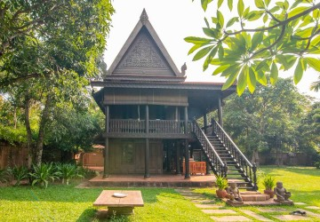 Khmer Heritage Home For Sale - Wat Damnak, Siem Reap  thumbnail