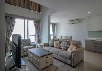 3 Bedroom Duplex Penthouse For Rent - Tonle Bassac, Phnom Penh