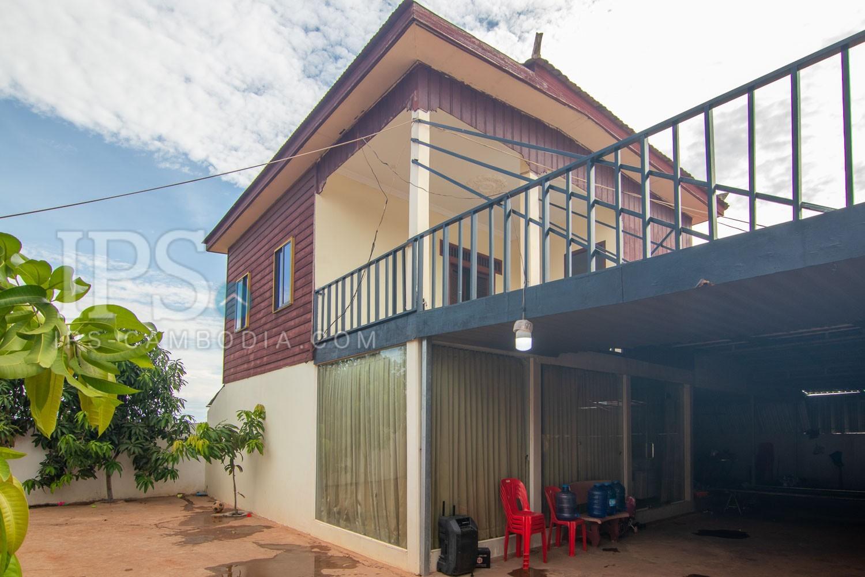 5 Bedroom Wooden House For Sale - Chreav, Siem Reap