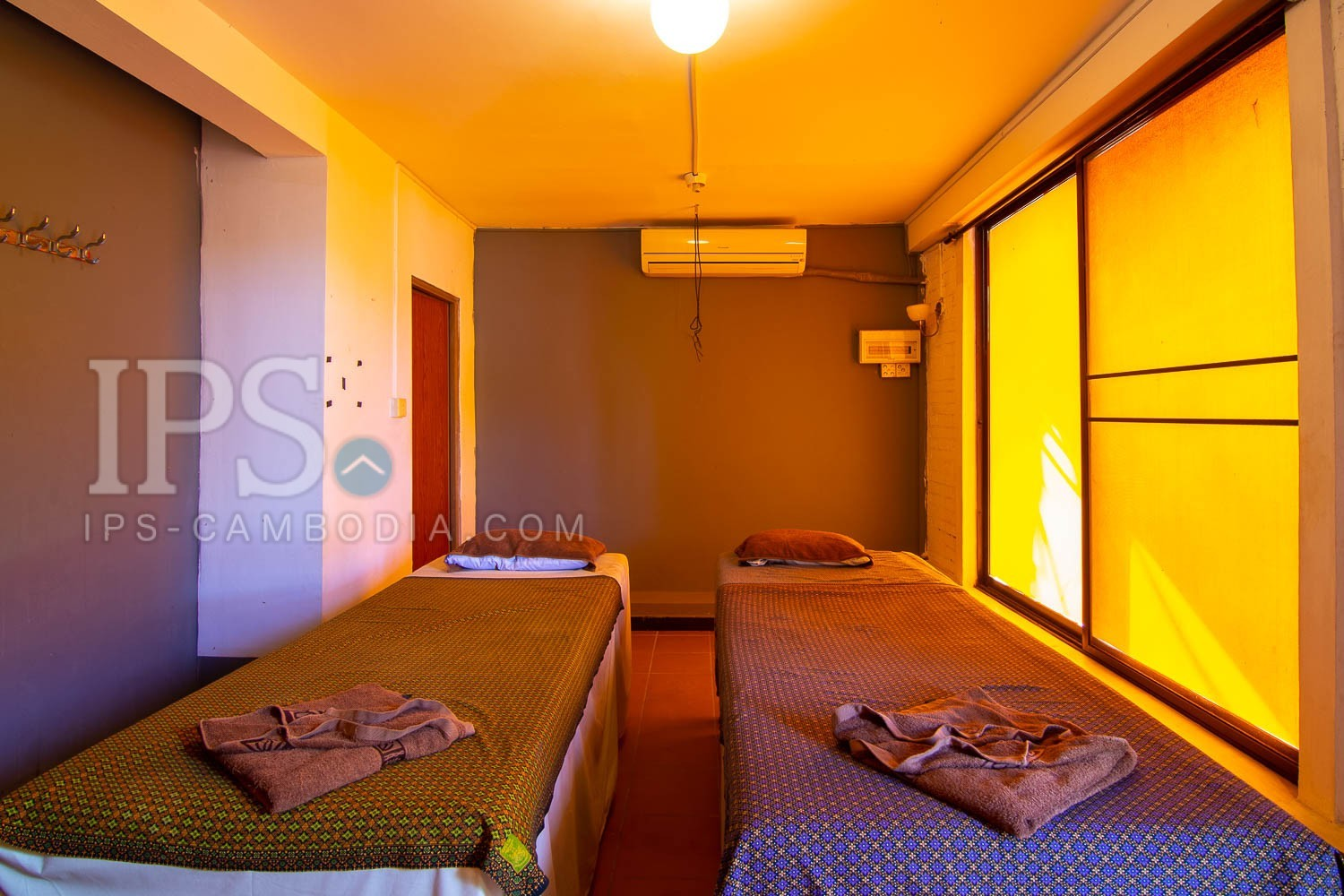 16 Room Massage Space For Rent - Road 60, Siem Reap