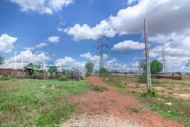 222 Sqm Land For Sale - Khnar, Siem Reap