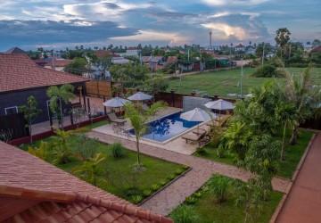 6 Bedrooom Wooden Resort For Sale - Sangkat Siem Reap, Siem Reap