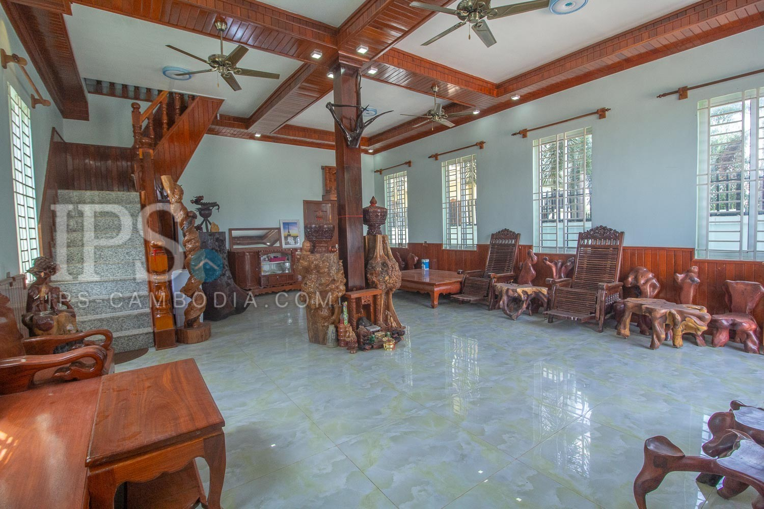 3 Bedroom House For Rent - Sala Kamreuk, Siem Reap