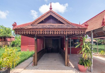 1 Bedroom Wooden House For Rent - Svay Dangkum, Siem Reap