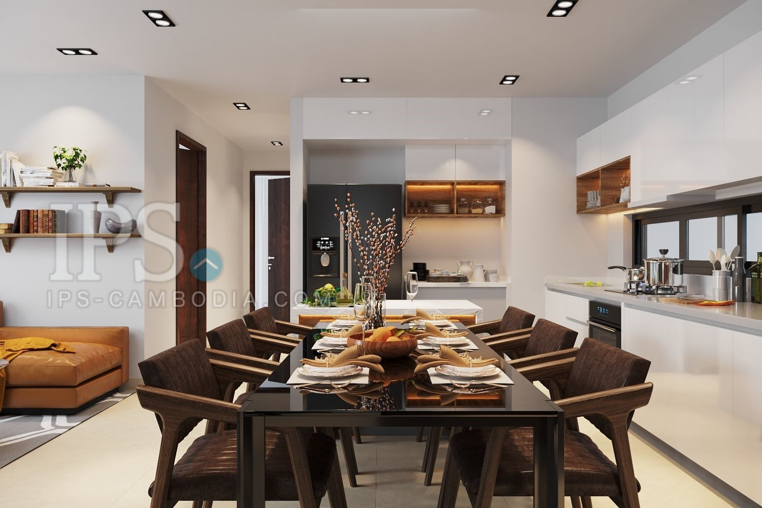 3 Bedroom Condo For Sale Only 1 Unit Left - Downtown Siem Reap