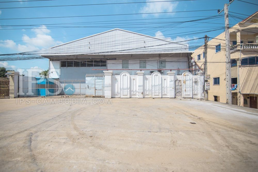 1400 Sqm Warehouse For Rent - Veal Sbov, Phnom Penh
