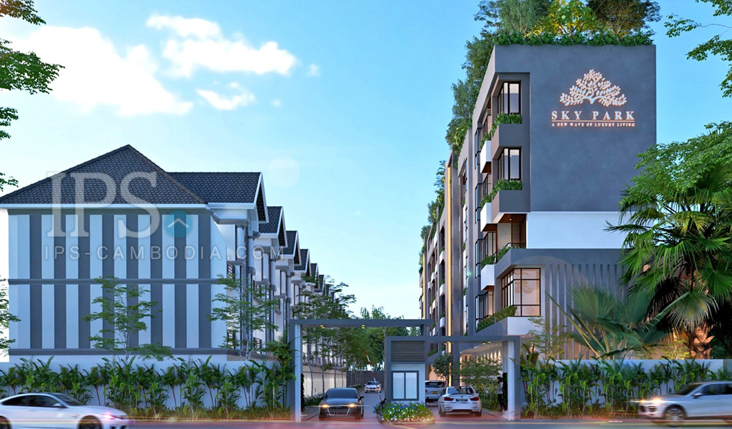 3 Bedroom Condo For Sale - Svay Dangkum, Siem Reap