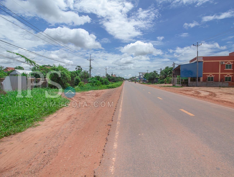 587 Sqm Land For Sale - Chreav, Siem Reap