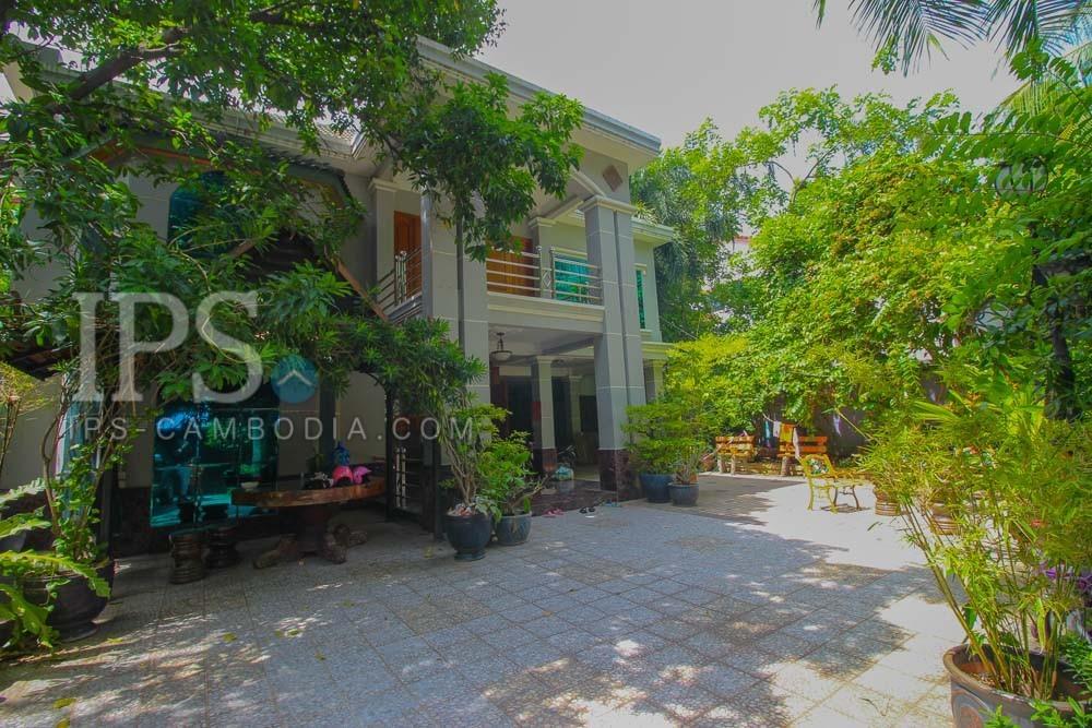 Commercial Villa For Rent- BKK1, Phnom Penh
