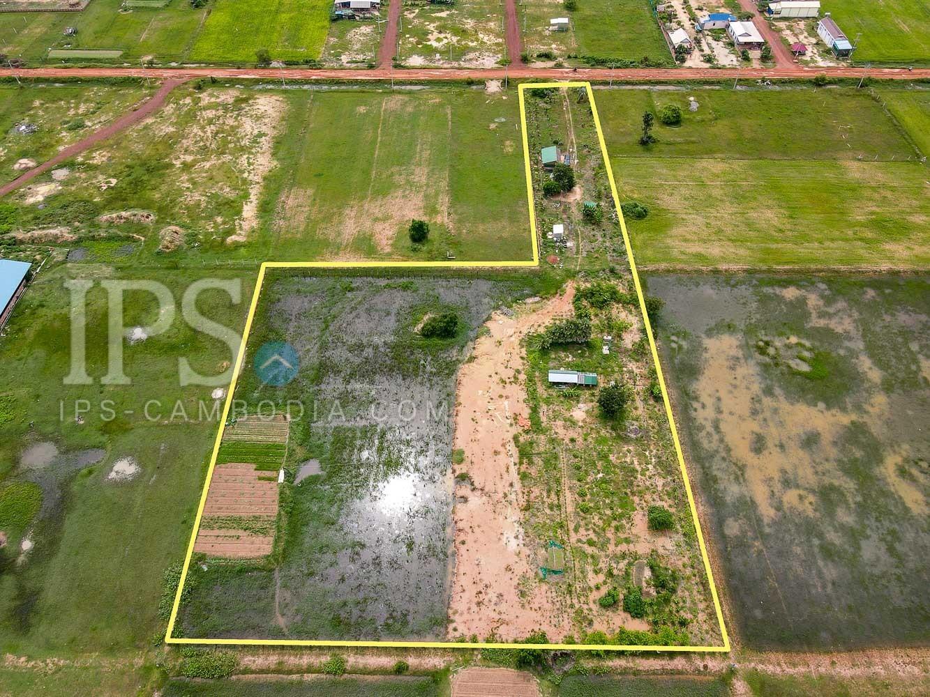 12000 Sqm Land For Sale - Chreav, Siem Reap