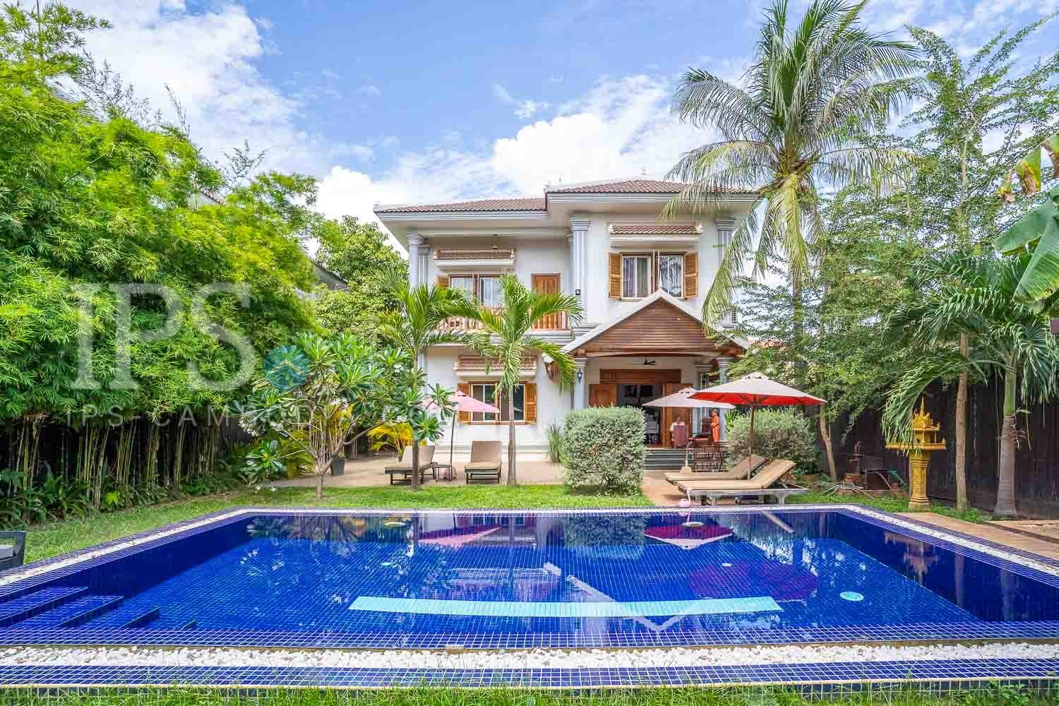 5 Bedroom Boutique Hotel Business For Sale - Svay Dangkum, Siem Reap