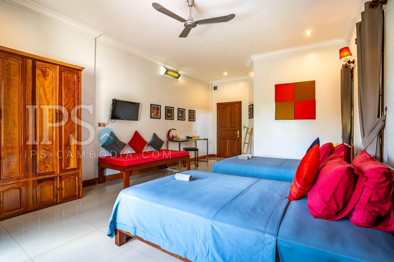 5 Bedroom Boutique Hotel Business For Sale - Svay Dangkum, Siem Reap