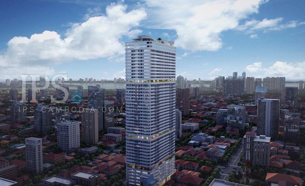 1-2-3 Bedroom Condominium For Sale - BKK1, Phnom Penh