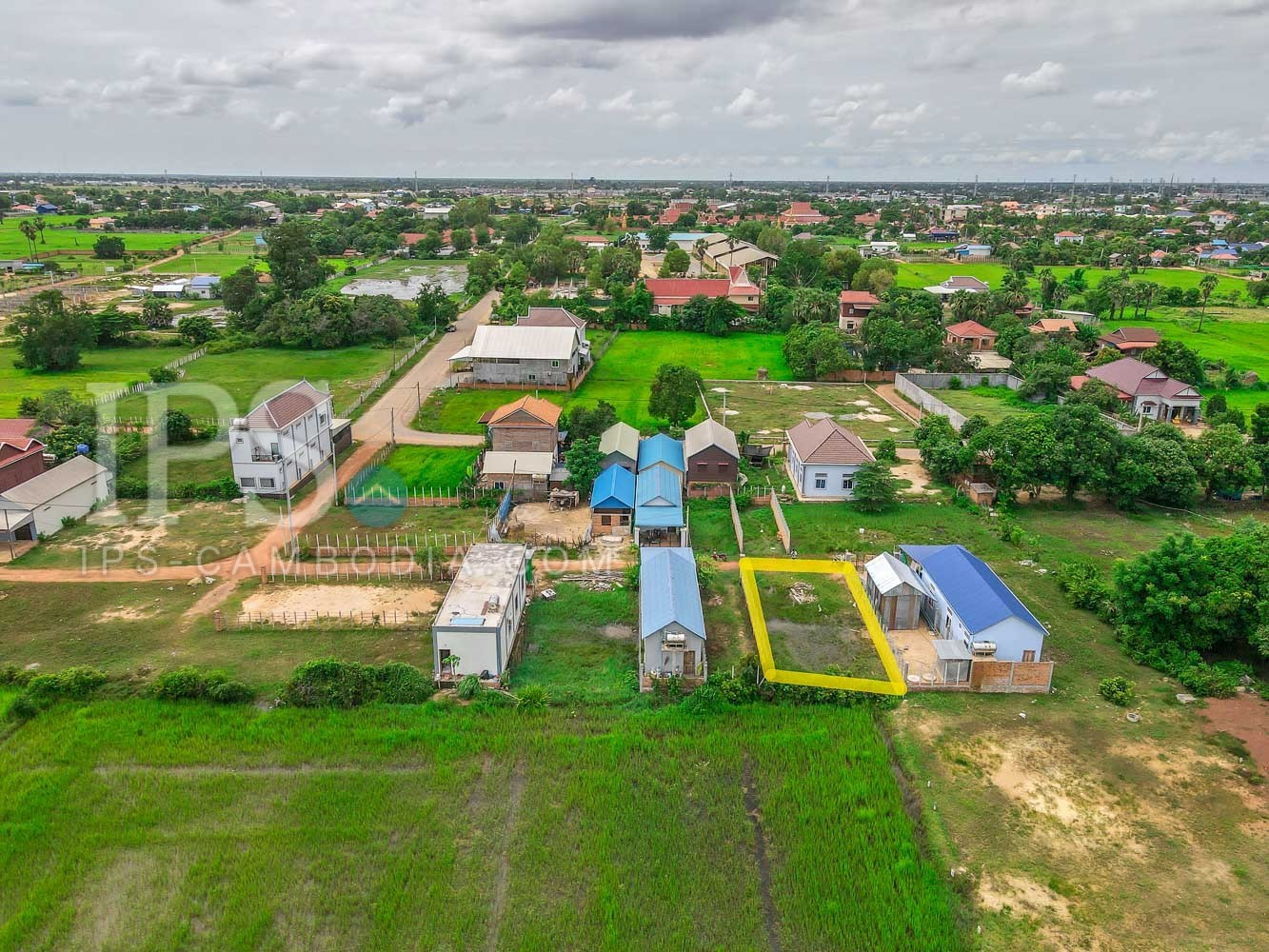 214 Sqm Land  For Sale - Svay Thom, Siem Reap