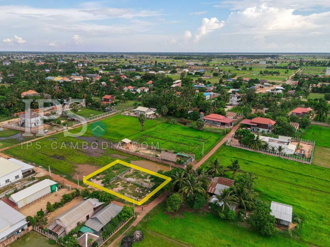 600 Sqm Land For Sale - Chreav, Siem Reap