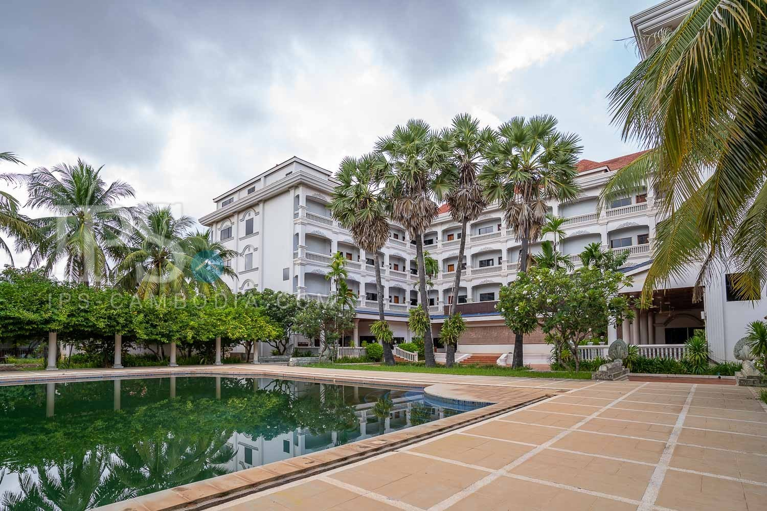 140 Bedroom Hotel For Sale - Svay Dangkum, Siem Reap