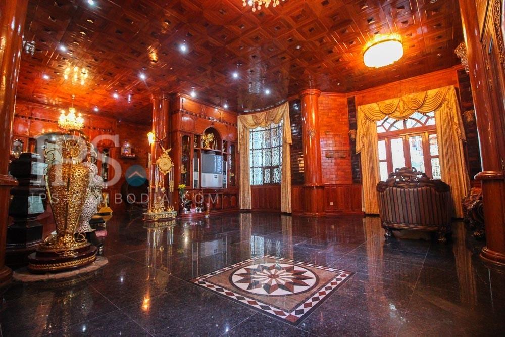 700sqm, Villa for Rent, Toulkork , Phnom Penh