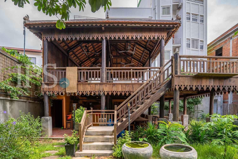 13 Room Boutique Villa For Sale - Svay Dangkum, Siem Reap
