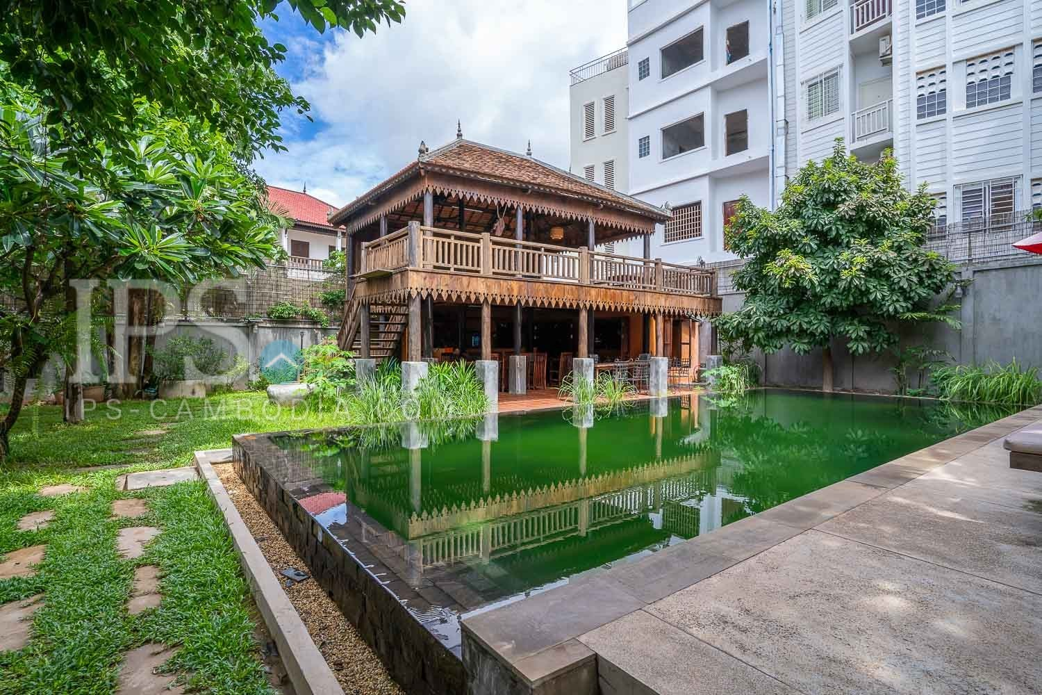 13 Room Boutique Villa For Sale - Svay Dangkum, Siem Reap