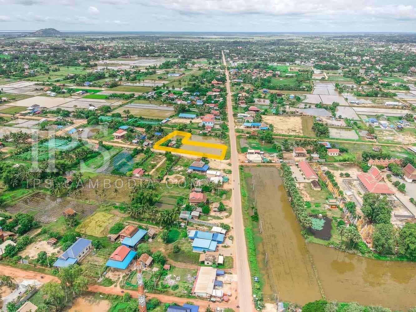 1471 Sqm Land For Sale - Chreav, Siem Reap