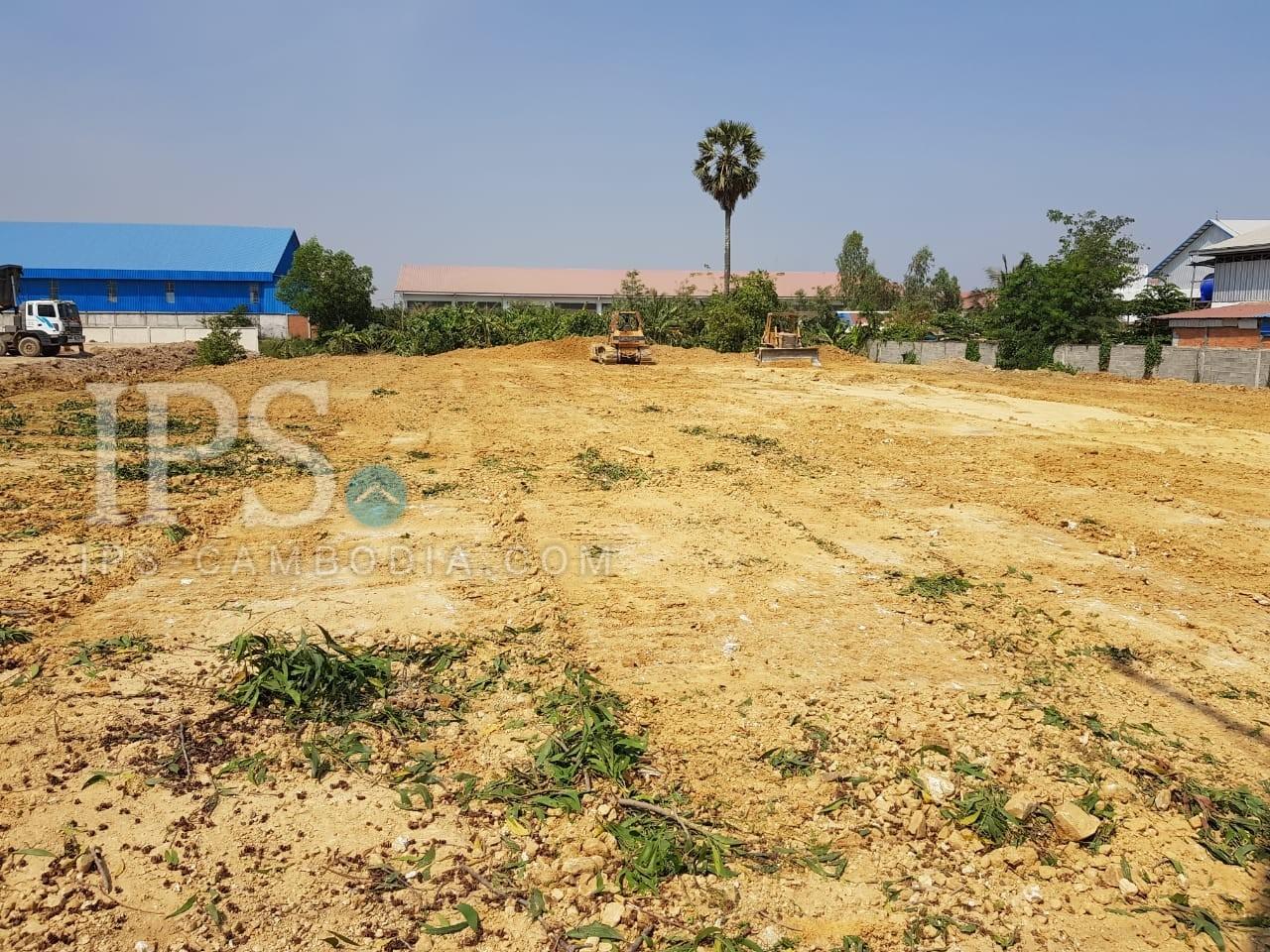 3,079 Sqm Land For Lease - Preak Kampues, Phnom Penh