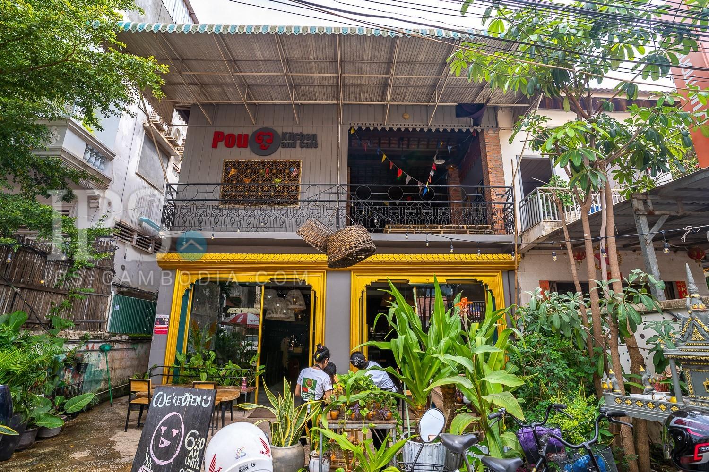 Restaurant Business For Sale - Old Market/Pub Street, Siem Reap
