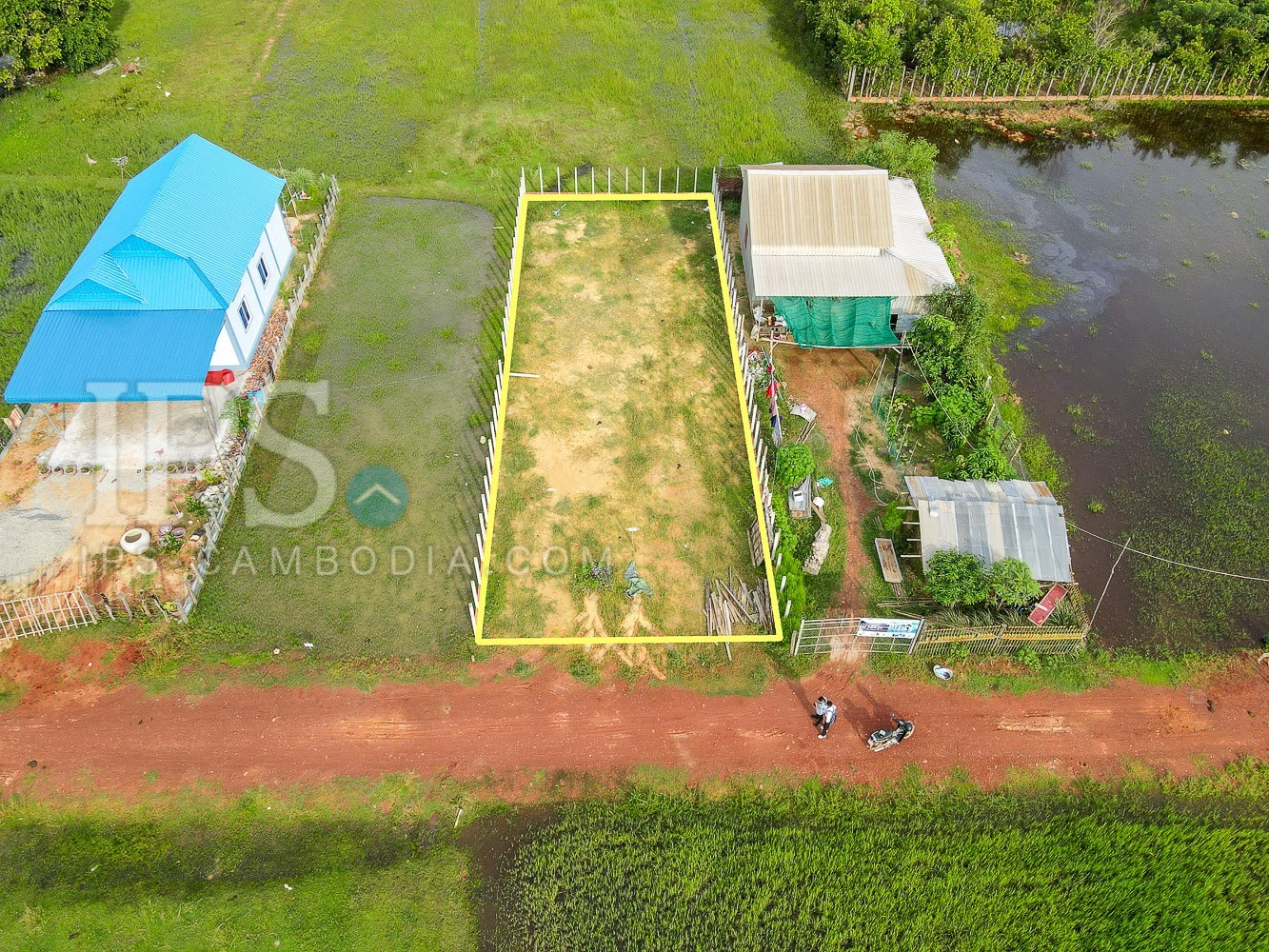 323.5 Sqm Land For Sale - Bakong District, Siem Reap