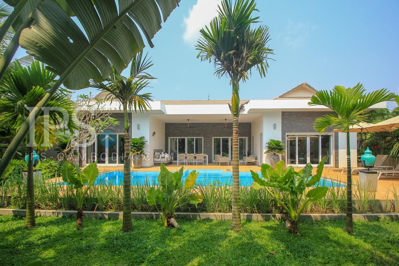 4 Bedroom Western Style Villa For Rent - Chreav, Siem Reap