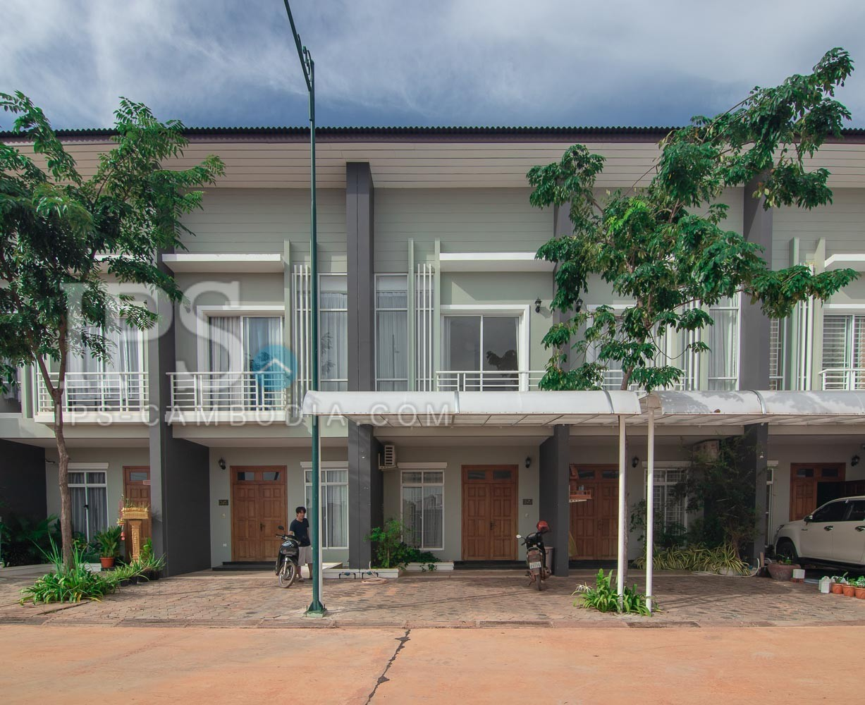 2 Bedroom House For Rent - Svay Dangkum, Siem Reap