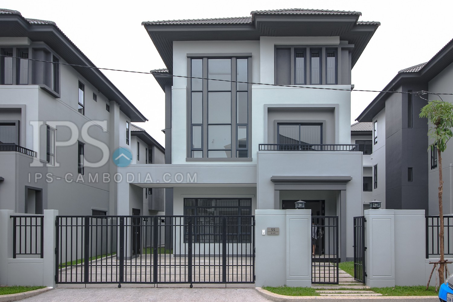 5 Bedroom Villa For Rent - Hun Sen Blvd, Phnom Penh