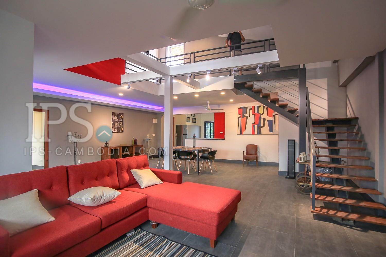 3 Bedroom Duplex For Rent - kbal Thnol (Chak Angrae Leu)