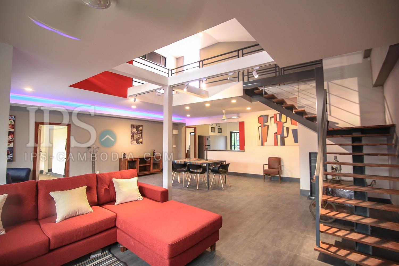 3 Bedroom Duplex For Rent - kbal Thnol Chak Angrae Leu