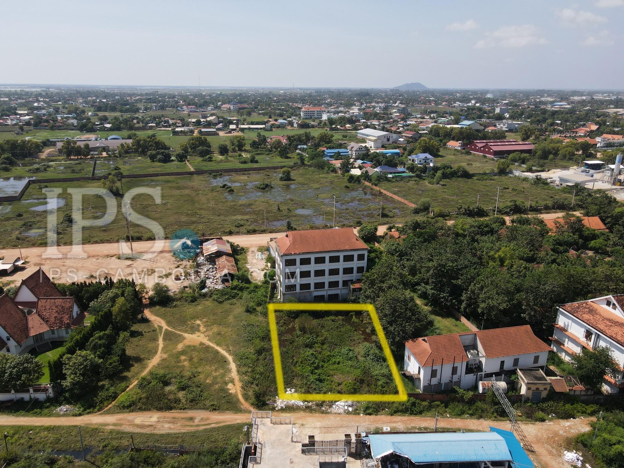 1,200 Sqm Land  For Sale - Khnar, Siem Reap
