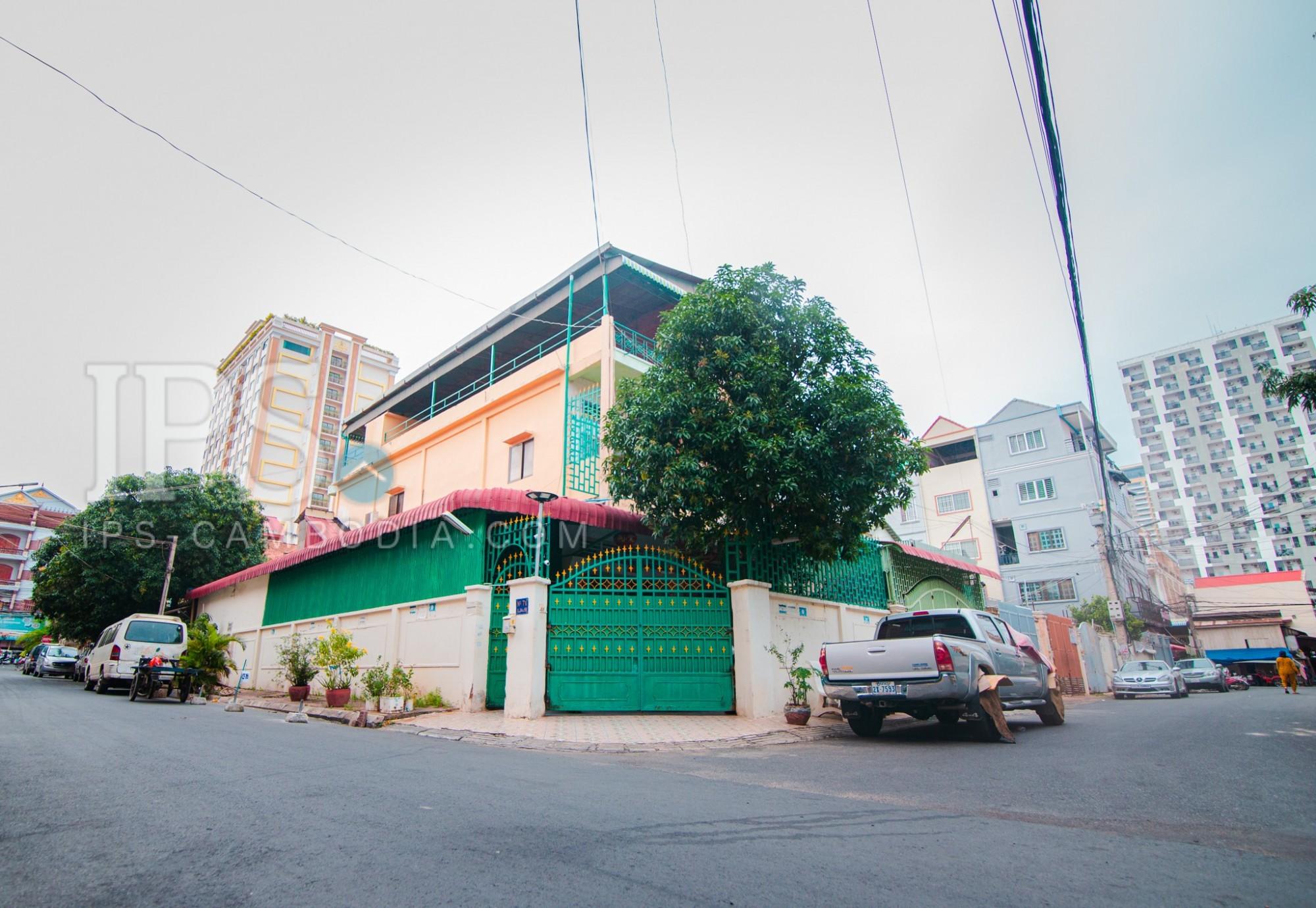 5 Bedroom Flat For Sale - Chamkarmorn, Phnom Penh