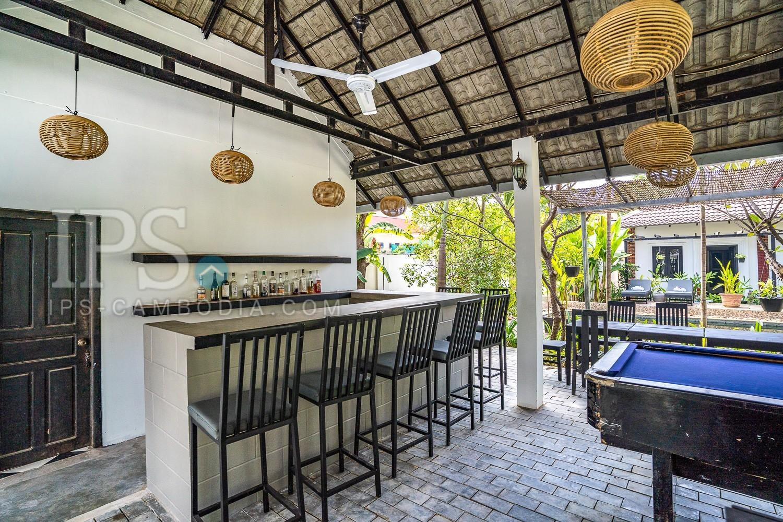 7 Bedroom Boutique Villa For Rent in Svay Dangkum, Siem Reap