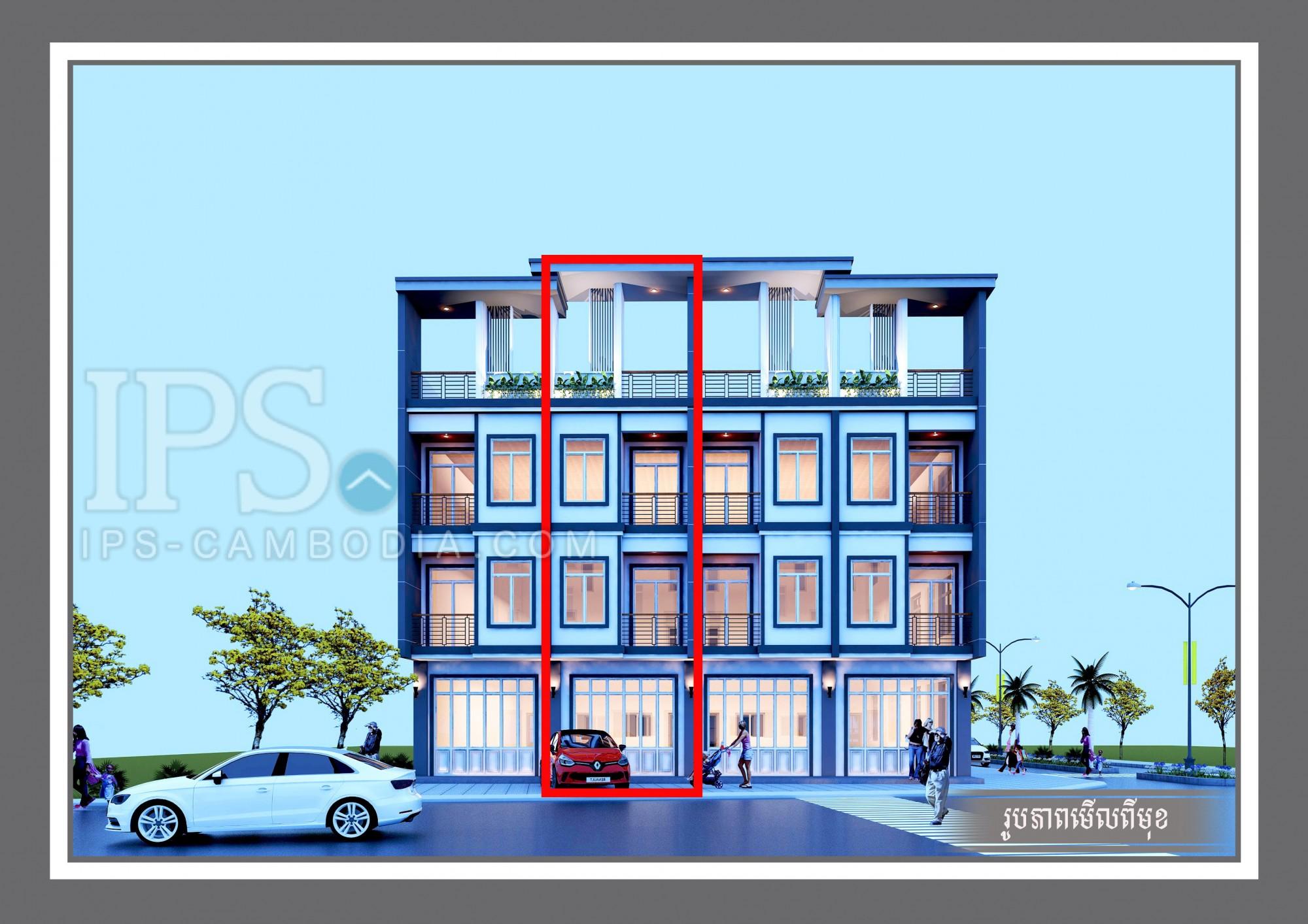 4 Bedroom Flat For Sale - Chreav, Siem Reap