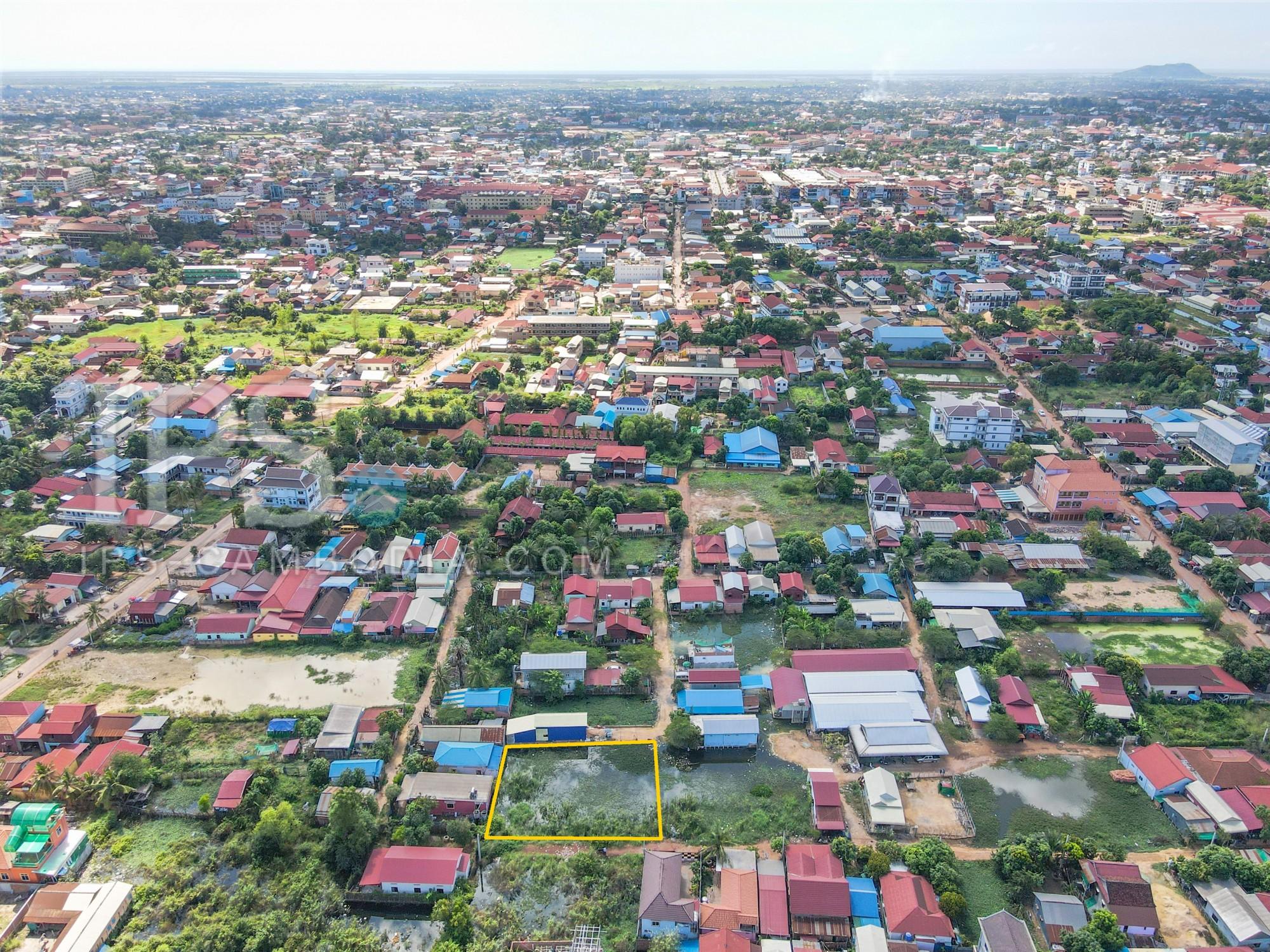 791 Sqm Land For Sale - Slor Kram, Siem Reap