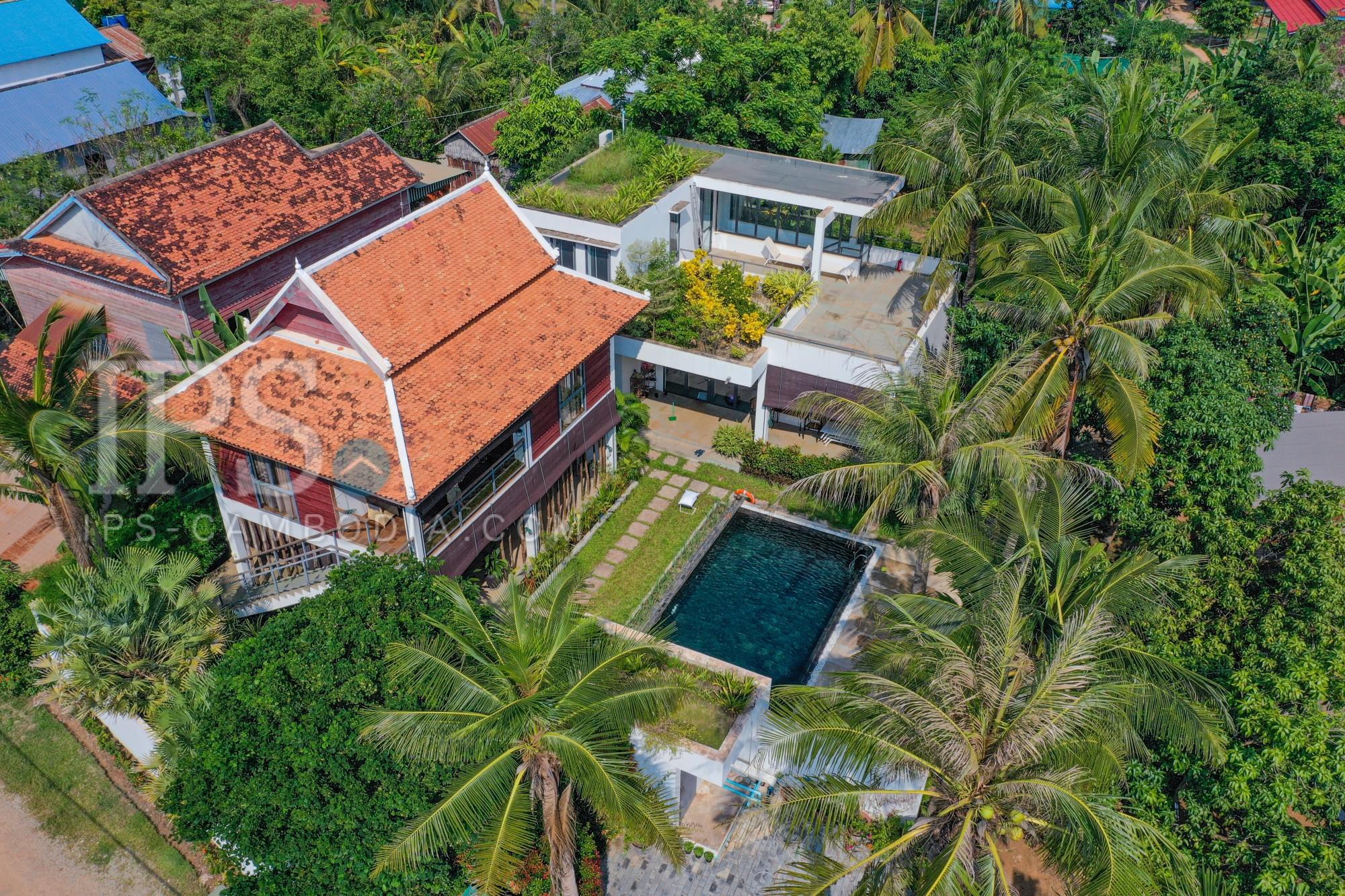 4 Bedroom Villa For Rent - Sangkat Siem Reap, Siem Reap