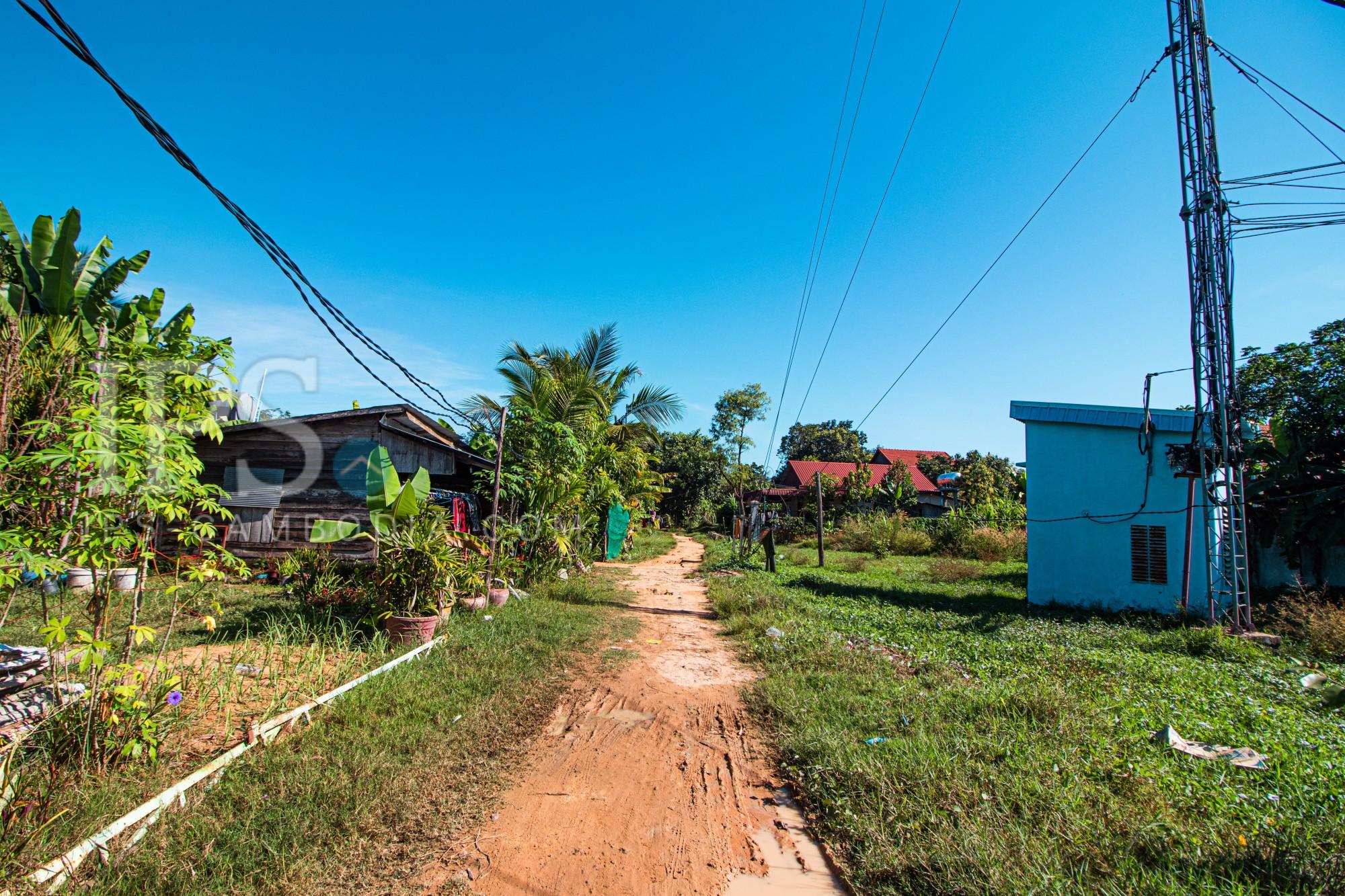 119 Sqm Land For Sale - Sra Ngae, Siem Reap