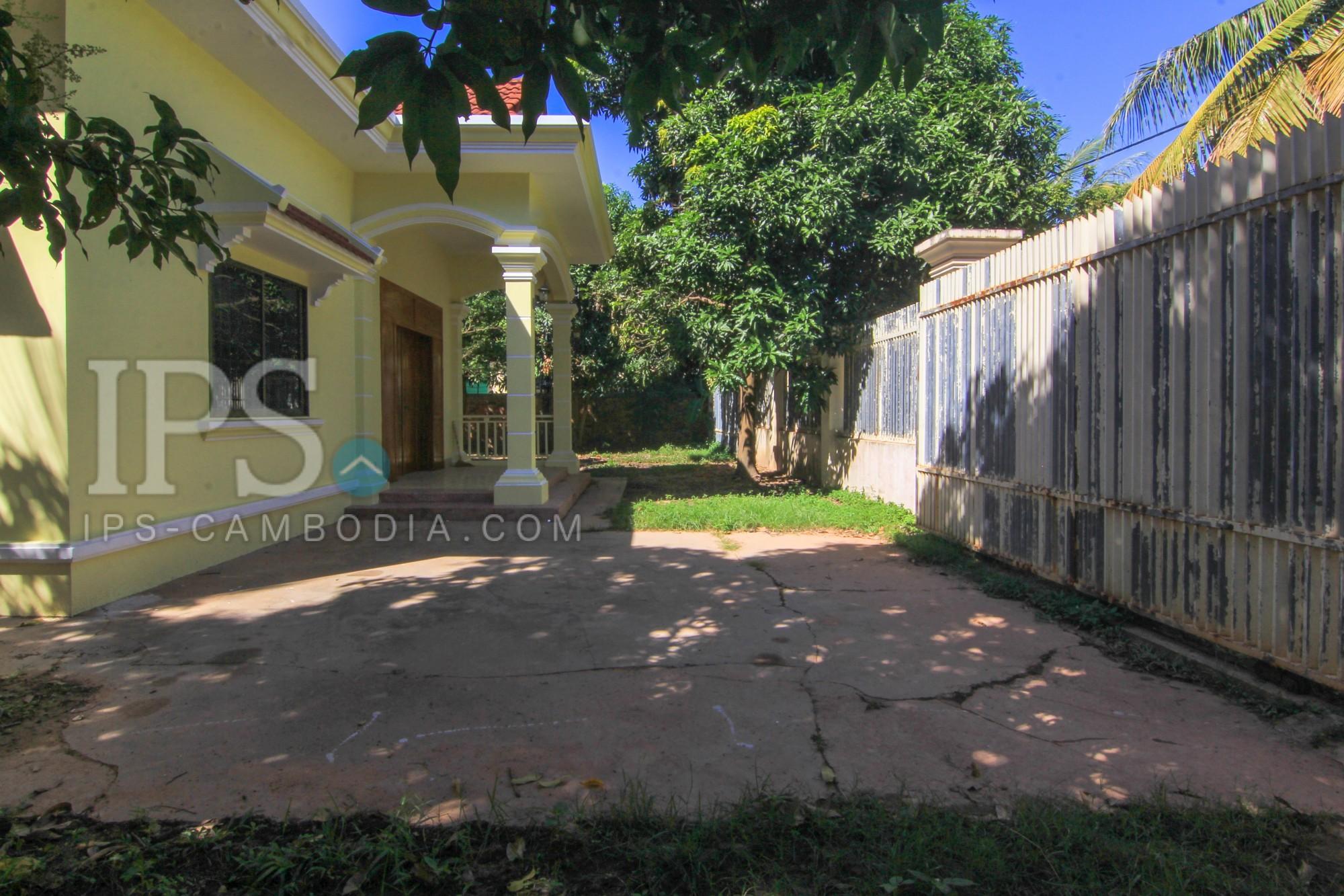 3 Bedroom House For Rent - Svay Dangkum, Siem Reap
