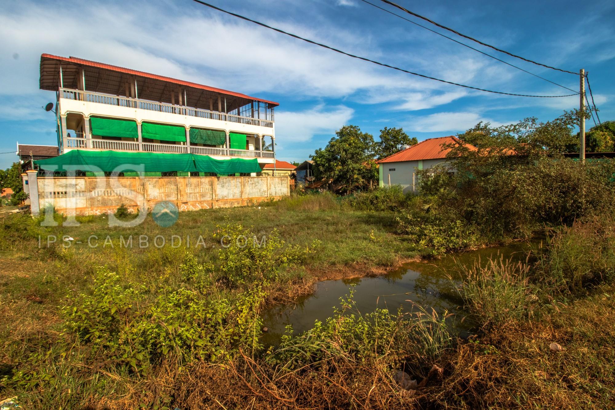 455 Sqm Land For Sale - Svay Dangkum, Siem Reap