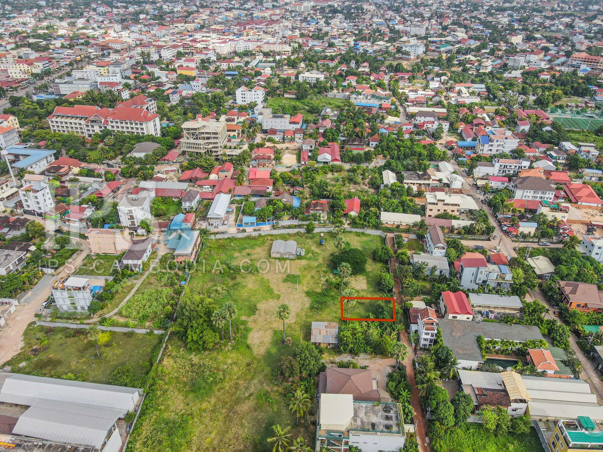 360 Sqm Land For Sale - Wat Bo, Siem Reap