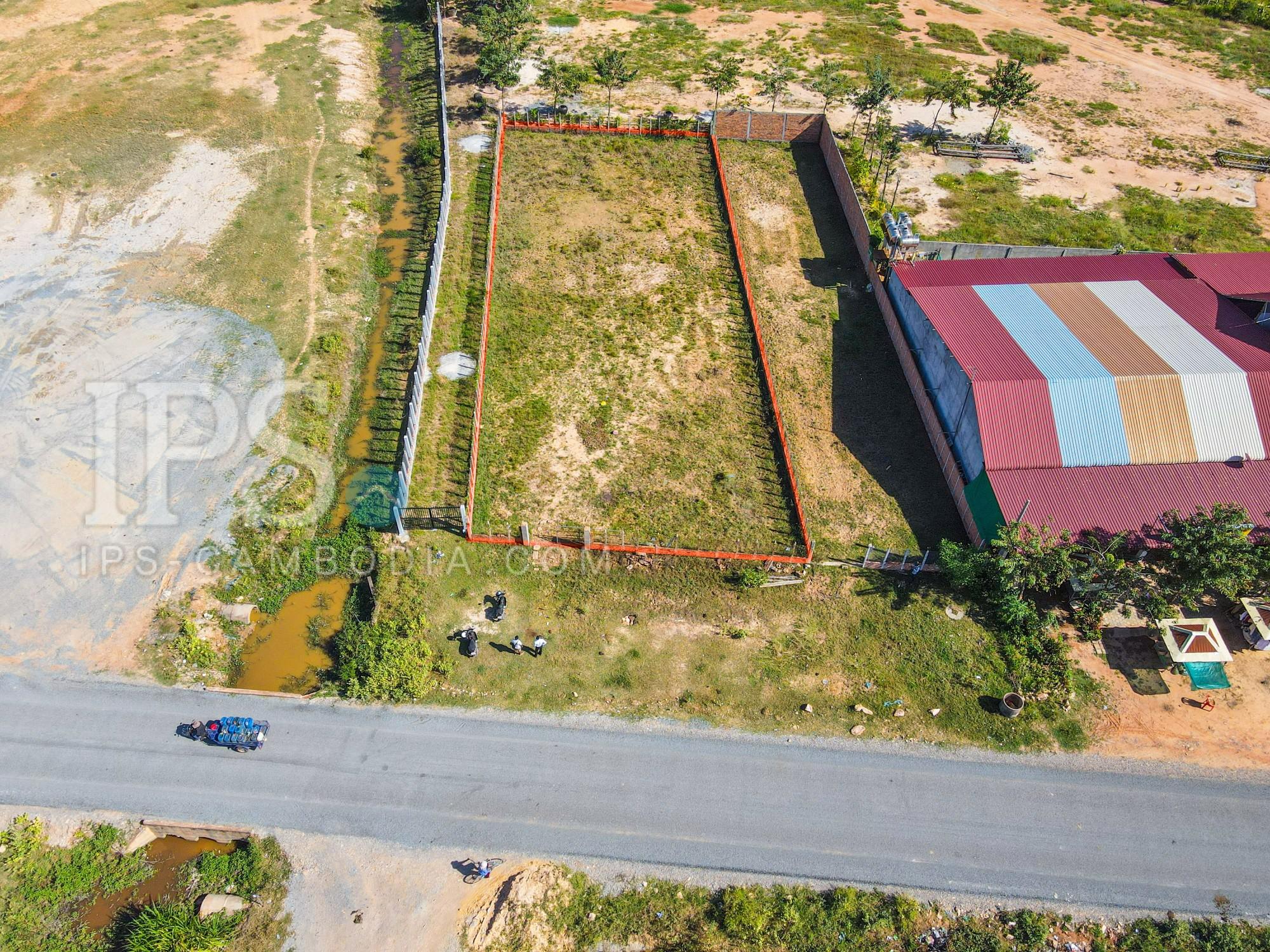 1000 sqm Land For Sale In Krabi Riel, Siem Reap