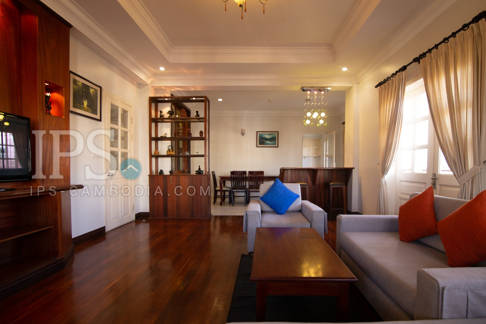 3 Bedroom Apartment For Rent - Toul Kork, Phnom Penh