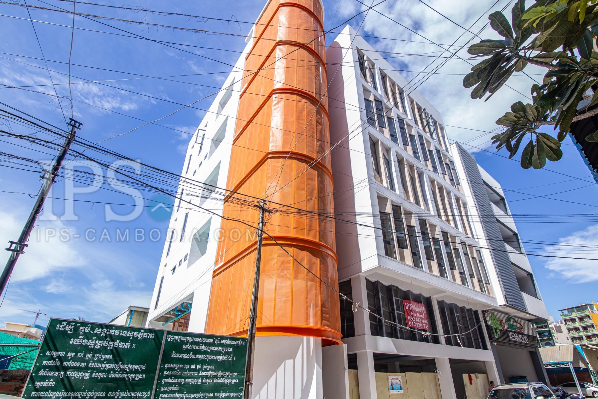 4 Floor Commercial Building For Rent - Toul Kork, Phnom Penh