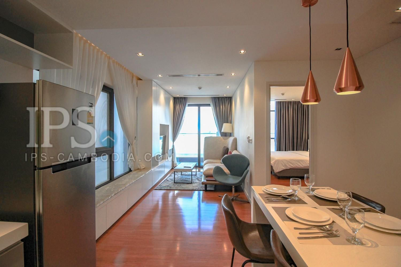 2 Bedrooms Service Apartment For Rent -  Boeung Trabek, Phnom Penh