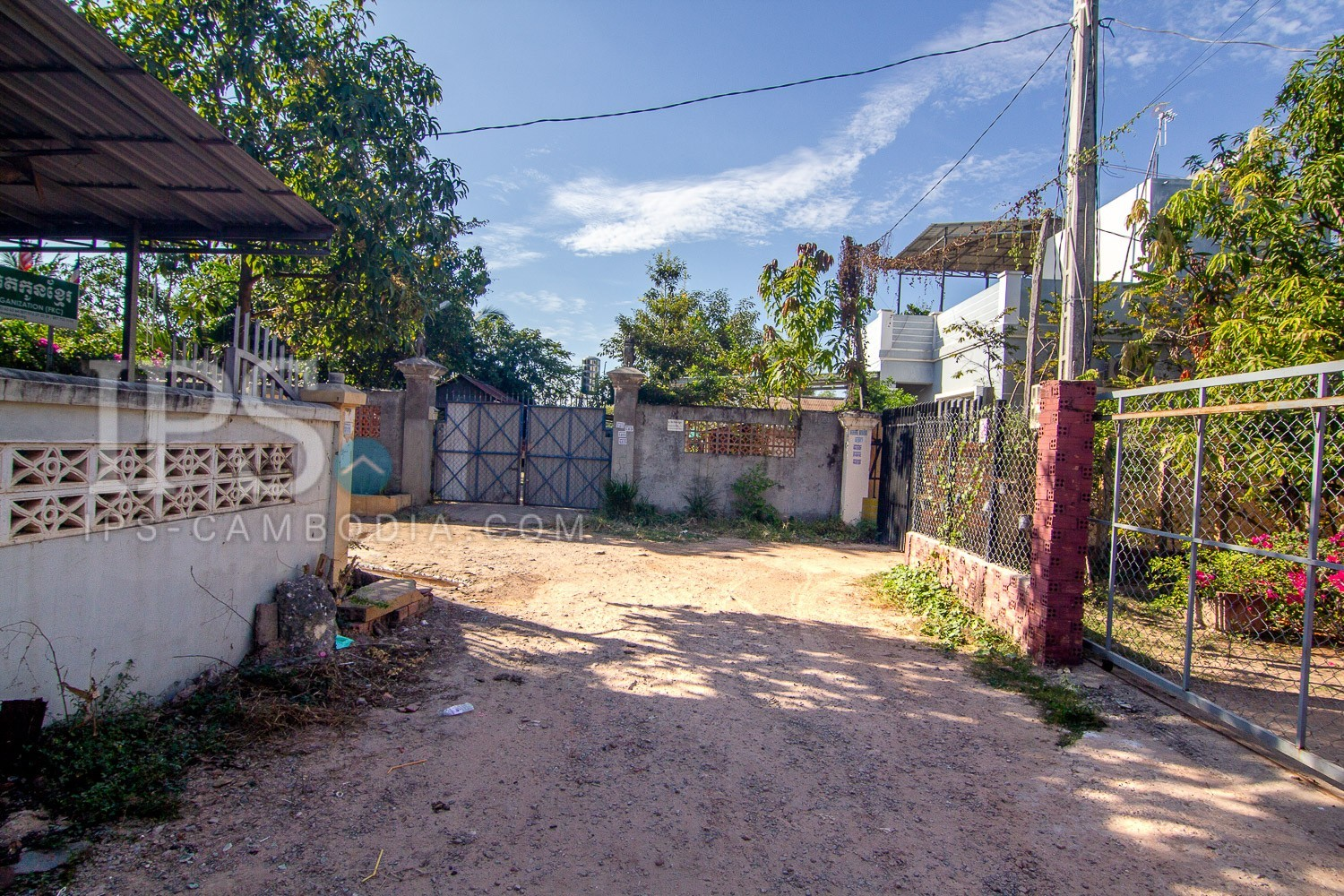 500 Sqm House And Lot For Sale - Sra Ngae, Siem Reap