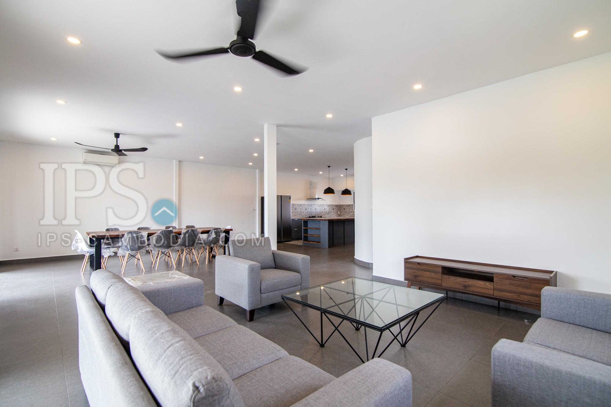 4 Bedroom Penthouse For Rent - Toul Kork, Phnom Penh
