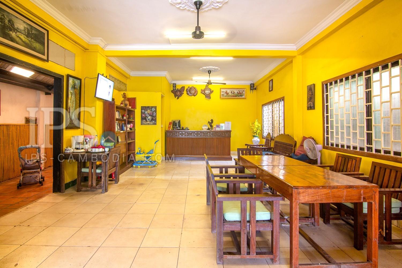 18 Bedroom Guesthouse For Sale - Svay Dangkum, Siem Reap